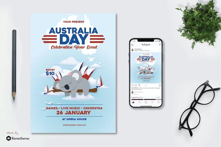 Journée de l'Australie - dépliant AS