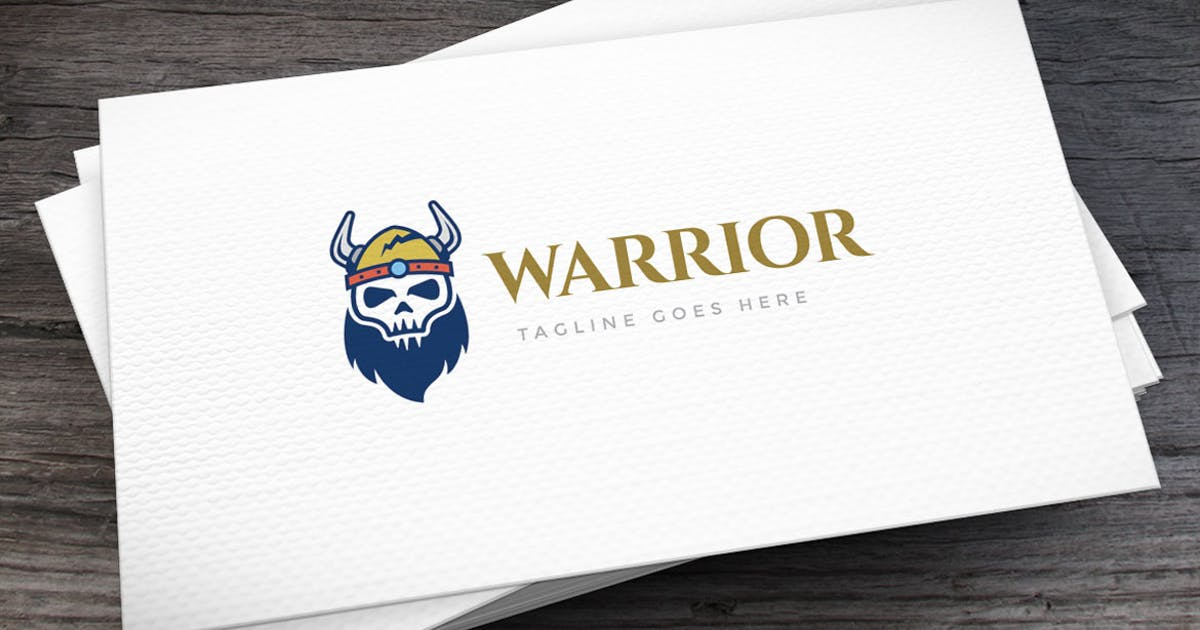 Download Viking Warrior Logo Template by empativo