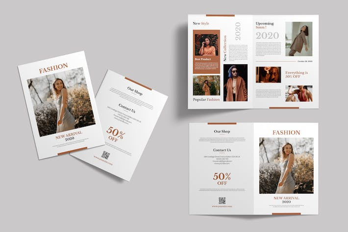 Fashion - Bifold Brochure