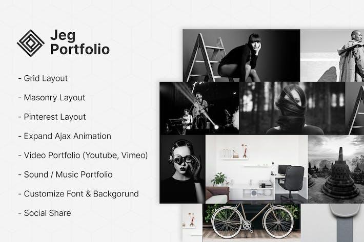 Jeg Portfolio - Portfolio & Gallery Plugin