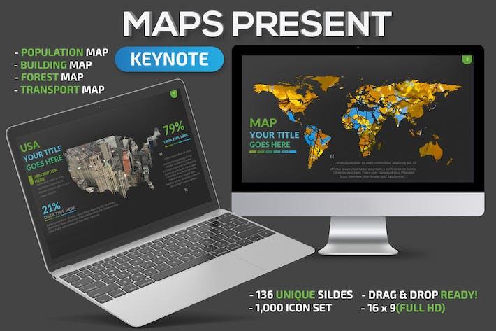 Cover Image For Map keynote presentation