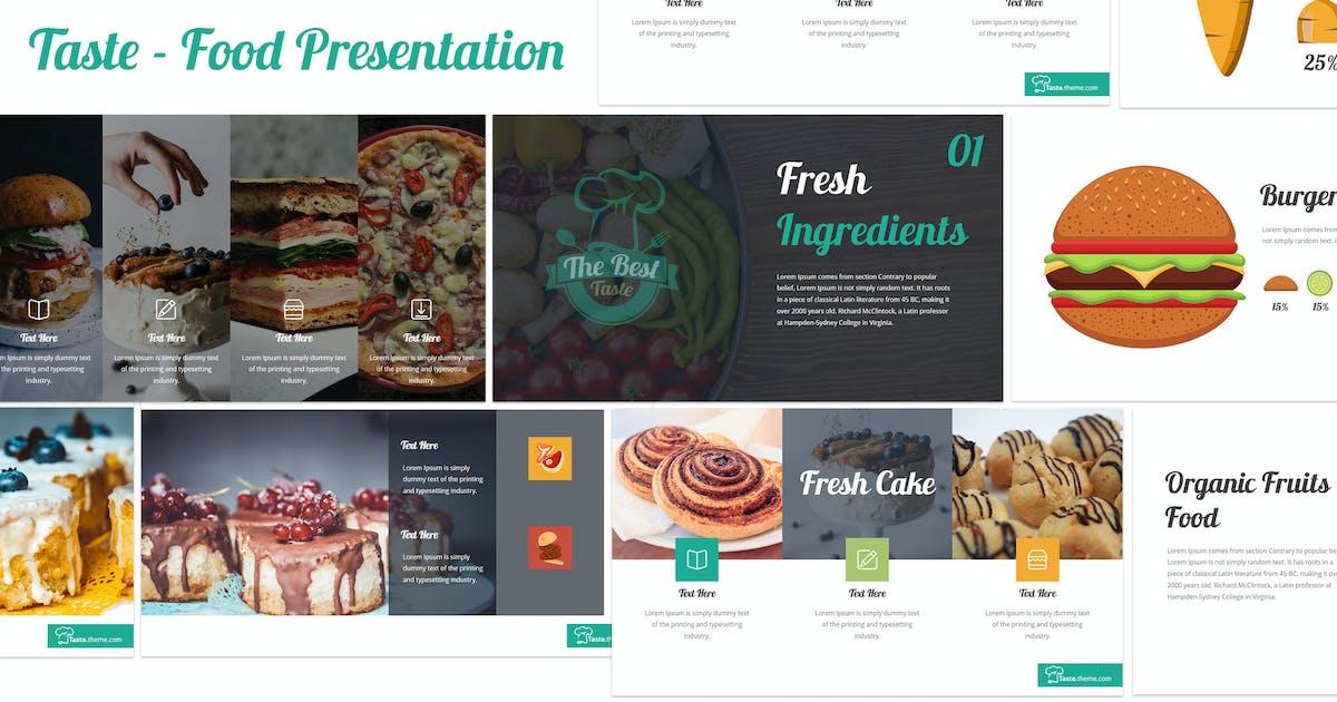 Download Taste - Food Keynote Template by inspirasign