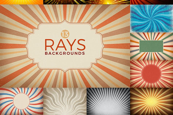 Rays Backgrounds