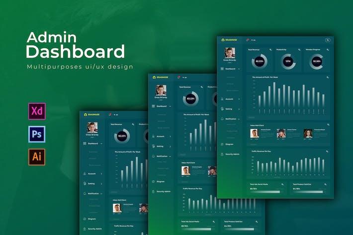 Thumbnail for Eramuse Dashboard | Admin Template