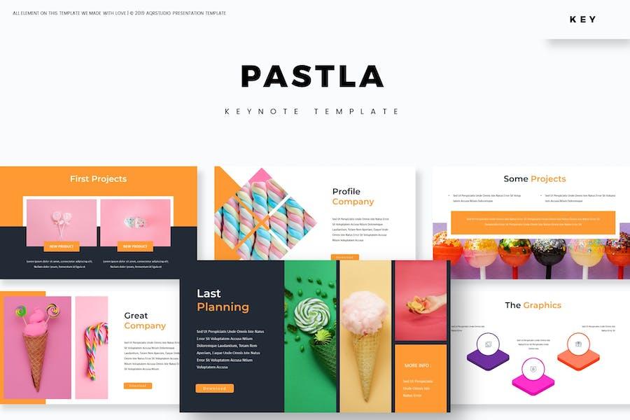 Pastla - Keynote Template