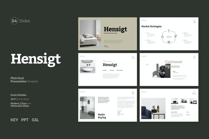 Hensigt - Pitch Deck Presentation