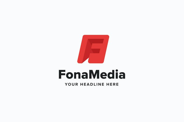 Thumbnail for Fona Media F Leter Logo Template