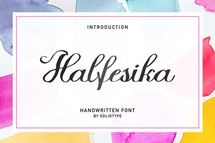 Thumbnail for Halfesika Script