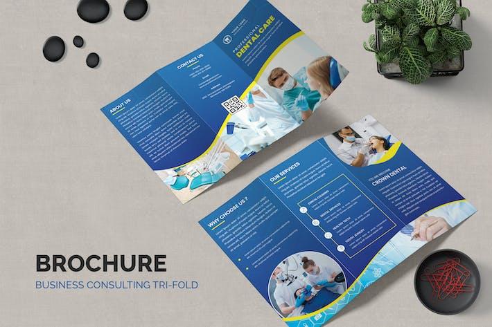 Thumbnail for Dental Care Plus Trifold Brochure