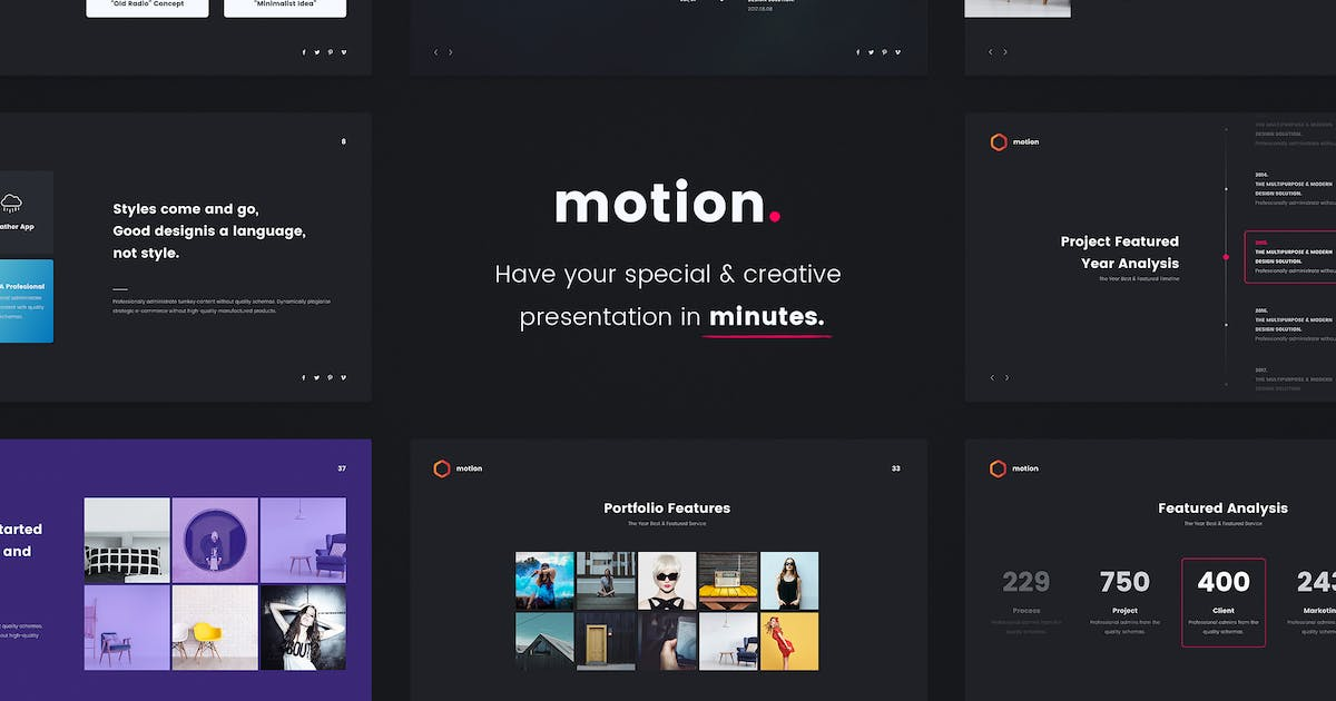 Download MOTION - Creative Powerpoint Template by SimpleSmart