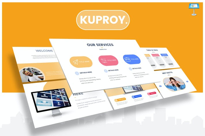 Thumbnail for Kuproy - Keynote Template