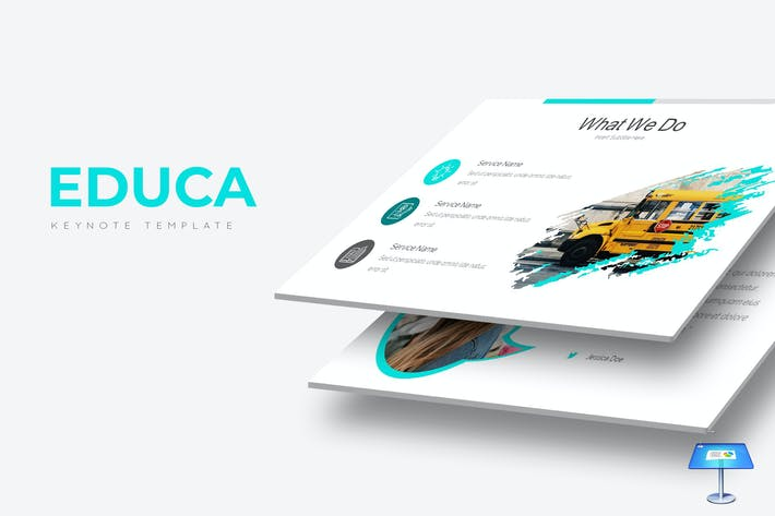 Thumbnail for Educa - Keynote Template