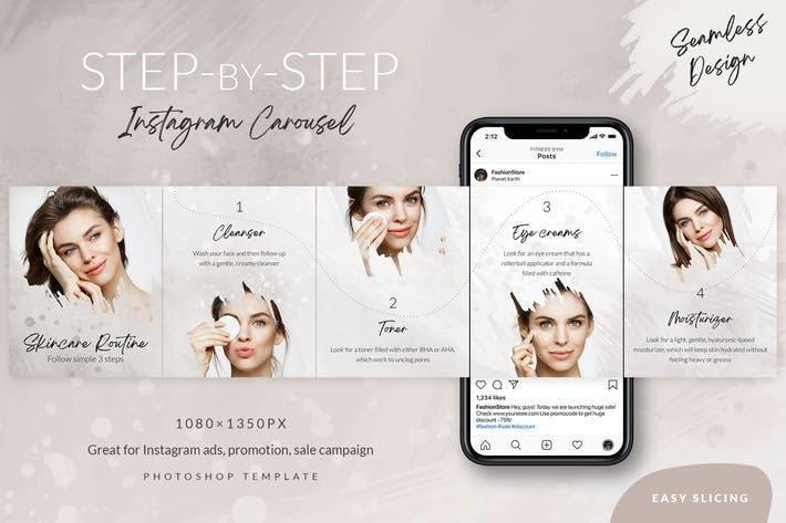 Thumbnail for Step-by-step Instagram Carousel