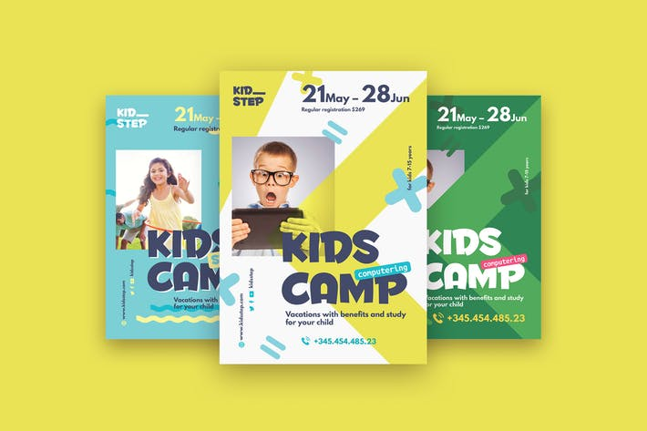 Thumbnail for Kids Camp Poster