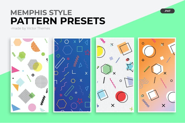 Thumbnail for Memphis Style Pattern Presets