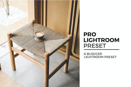 6 Lightroom Presets for Blogger
