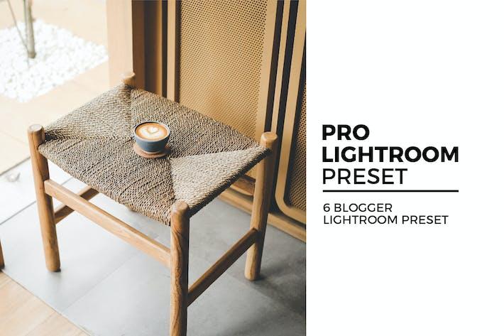 Thumbnail for 6 Blogger Lightroom Preset