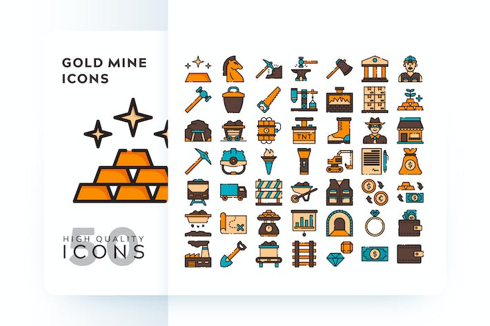 Thumbnail for GOLD MINE FILLED COLOR