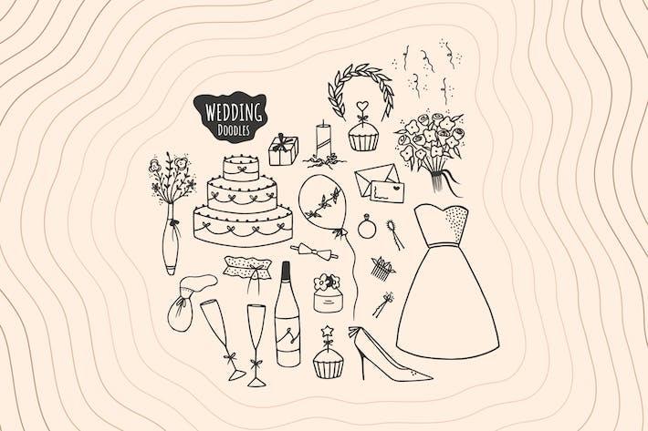 Thumbnail for Hochzeit Doodles