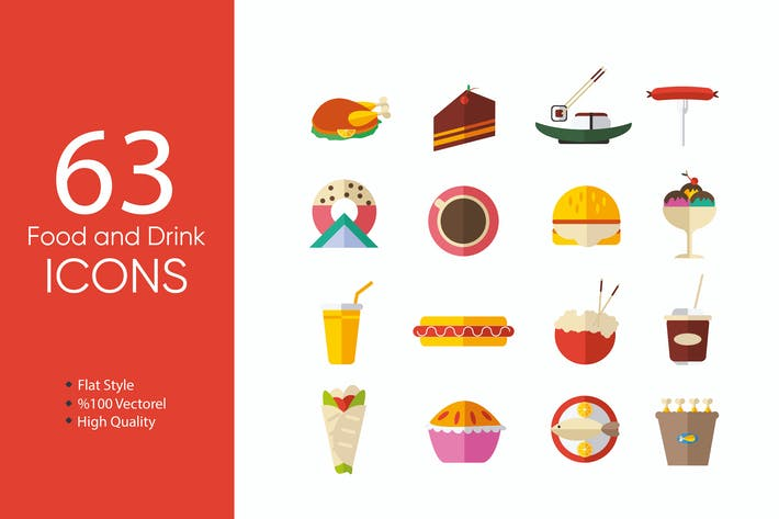 Thumbnail for Food and Drink Icons