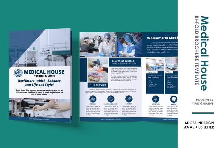 Thumbnail for Medical Clinic Bifold Brochure