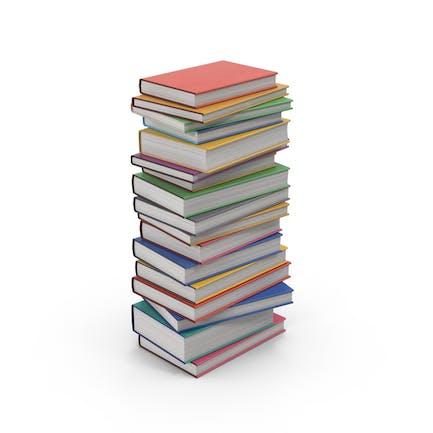 Pila de libros de texto
