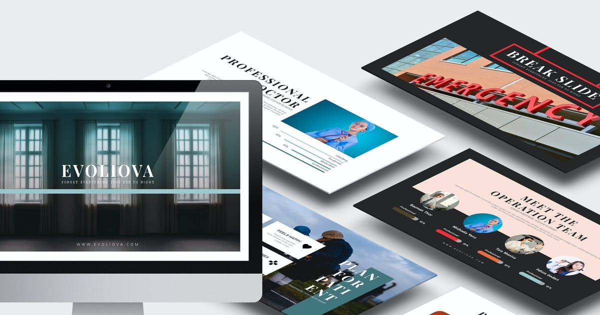 Evoliova : Medical Powerpoint Template by Unknow