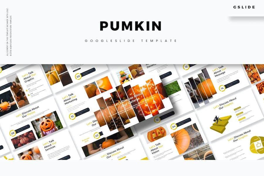 Pumpkin - Google Slides Template