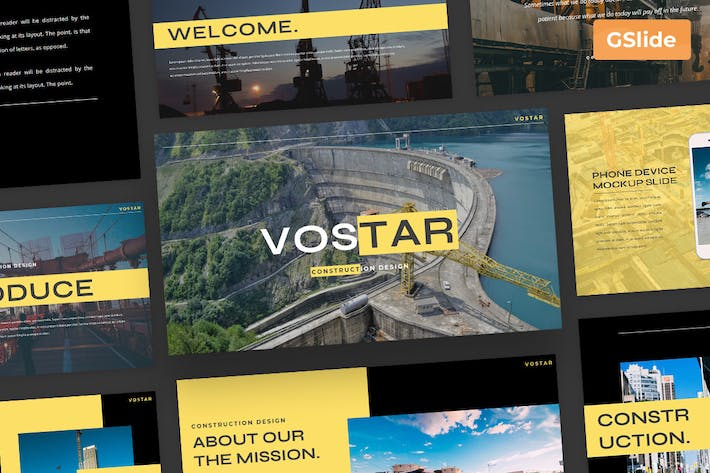 Vostar - Google Slide Presentation Template