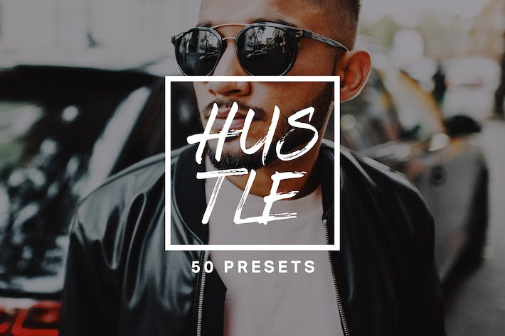 Thumbnail for 50 Hustle Lightroom Presets and LUTs