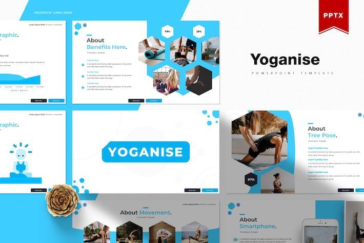 Thumbnail for Yoganise | Шаблон Powerpoint