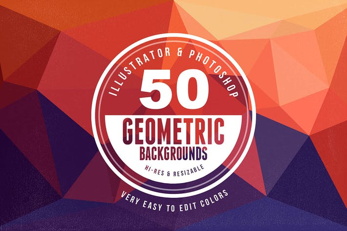 Thumbnail for 50 Geometric Backgrounds