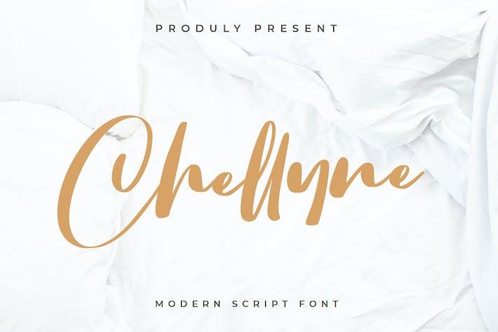 Thumbnail for Chellyne - Fuente de escritura Moderno