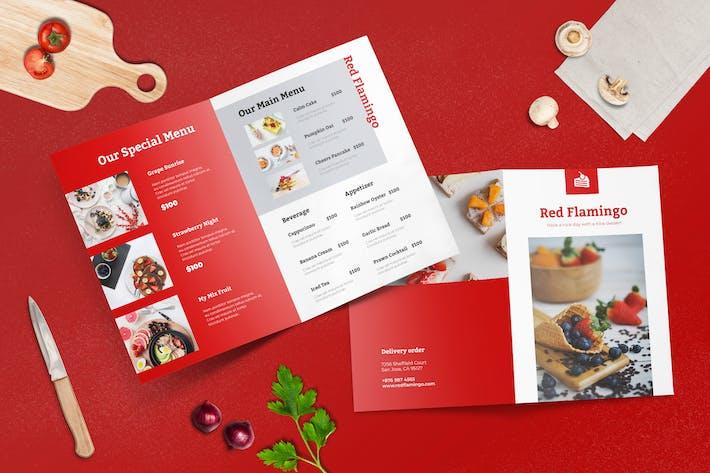 Thumbnail for Bifold Restaurant Menu Template