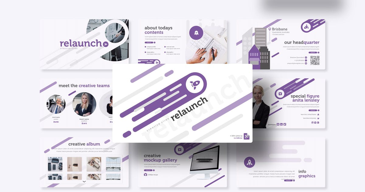 Download Relaunch - Keynote Template by IanMikraz