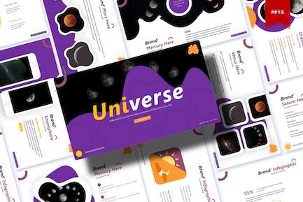 Universo   Plantilla Powerpoint