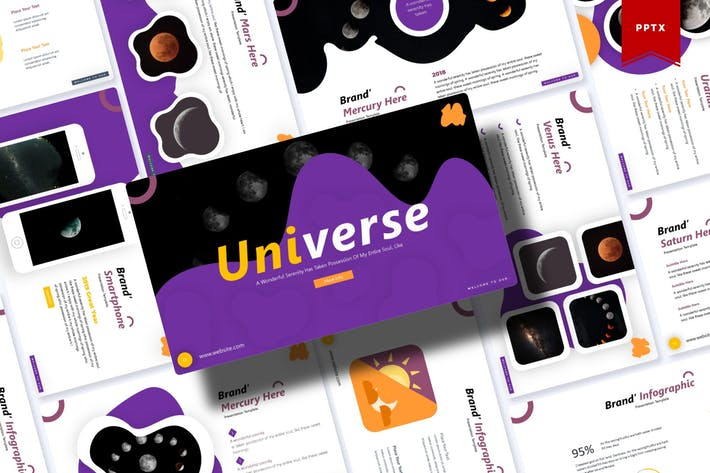 Thumbnail for Universe | Powerpoint Template