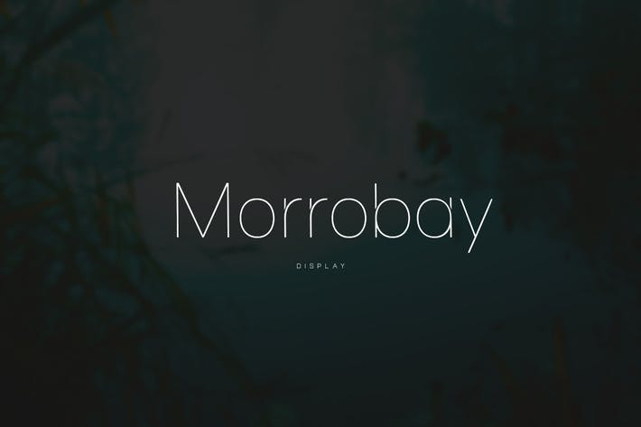 Thumbnail for Morrobay Unique Typeface with Web-fonts
