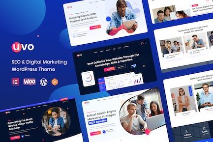 UVO - SEO & Digital Marketing Theme