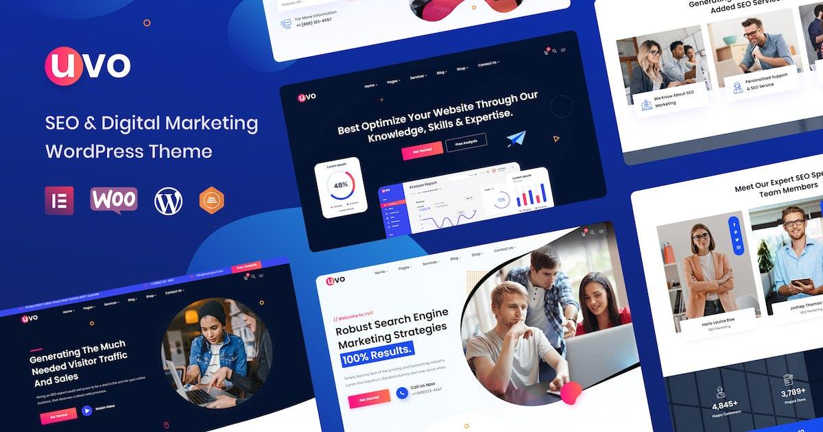 Download UVO - SEO & Digital Marketing Theme by radiantthemes