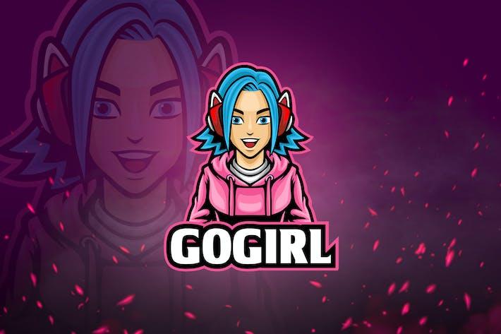 Thumbnail for Jeux Avatar & Logo Esport V7 - Cute Girl