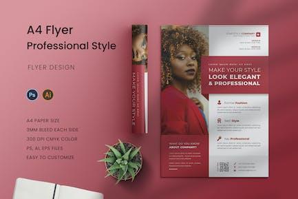 Profi Style Flyer