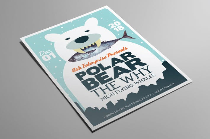 Thumbnail for Bear Indie Gig Flyer