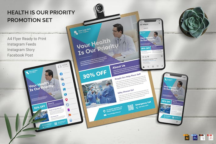 Thumbnail for Medical - Promotion Set