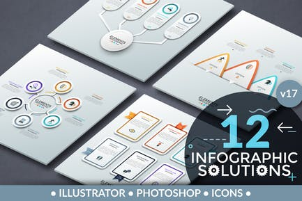Infographic Solutions. Part 17