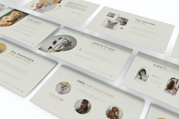 Haustier Pet Care Powerpoint Template