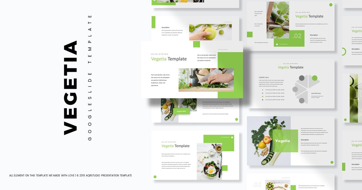 Download Vegetia - Google Slides Template by aqrstudio
