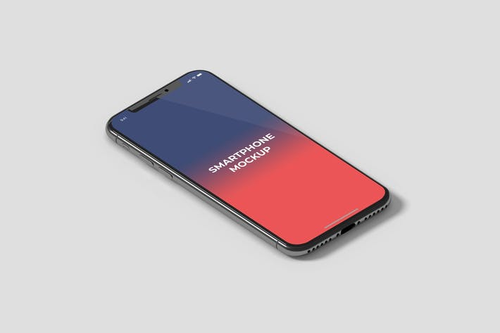 Thumbnail for Isometrische Smartphone-Mockup