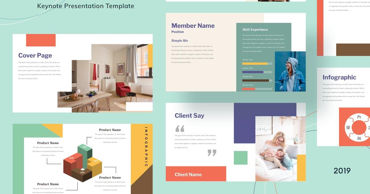 Download Wednes - Keynote Presentation - [code M] by GranzCreative