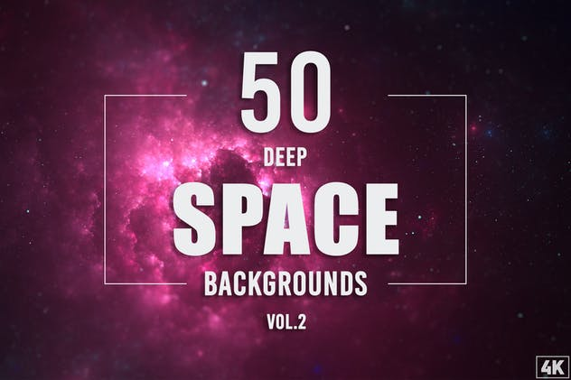 50 Deep Space Backgrounds - Vol. 2